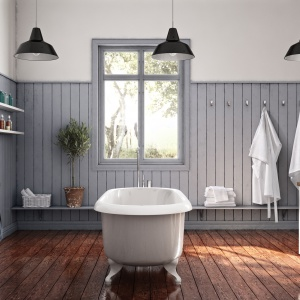 Klasycznie a zarazem z elementami nowoczesnego stylu – meble łazienkowe Happie szwedzkiej firmy Ballinsglov. Fot. Ballinsglov.