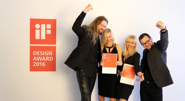 Dwie nagrody iF Design Award dla polskiej marki Vank
