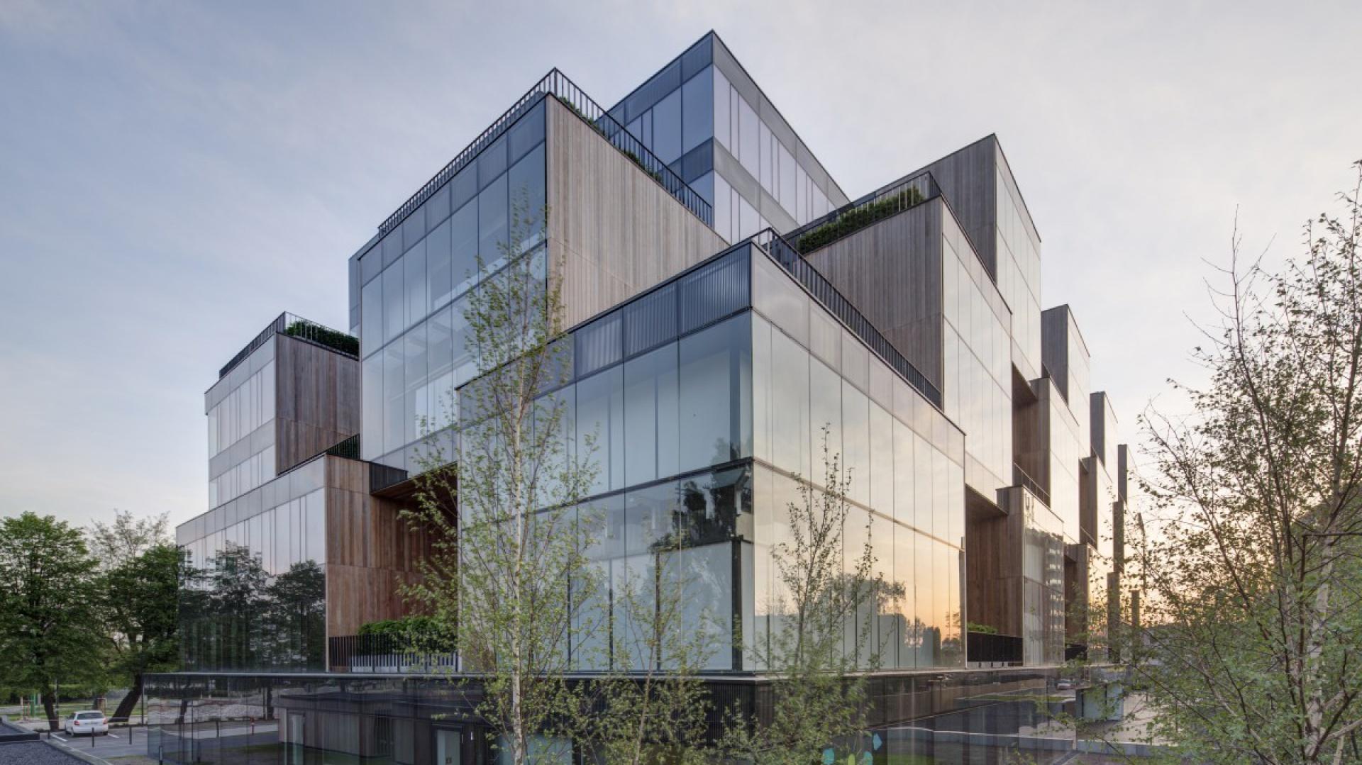 Nowoczesny, funkcjonalny i niebywale oryginalny biurowiec Pixel to jeden z najciekawszych i najpiękniejszych obiektów architektonicznych, które w ostatnich latach powstały w Poznaniu. Fot. Materiały prasowe