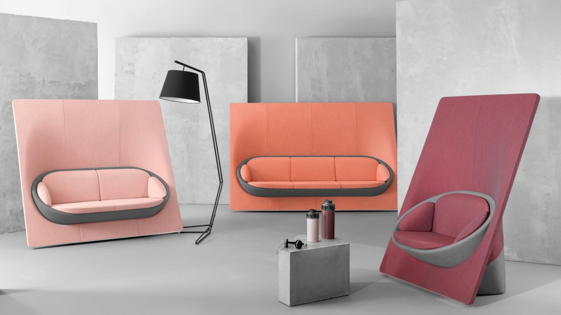 Wyspa to archetyp mebla, którego nowatorskie wzornictwo siedzisk wyznacza nowy styl w projektowaniu. Jeśli chcemy zaprosić innych do konwersacji wystarczy ustawić sofy w pozycji otwartej. Fot. Materiały prasowe