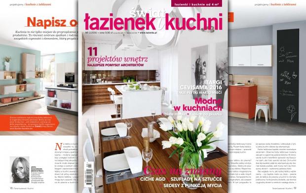 Wydarzenia Magazyn świat łazienek I Kuchni Nowy Numer 2