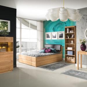 Kolekcja mebli młodzieżowych Atlanta to piękne kolory drewna, które sprawią, że pokój będzie przytulnym i ciepłym miejscem. Fot. Dekort.