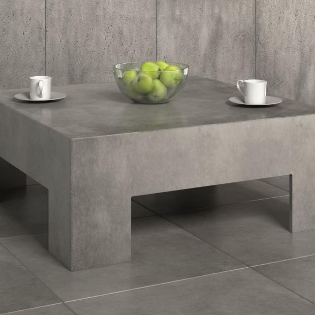 Stoliki kawowe z betonu