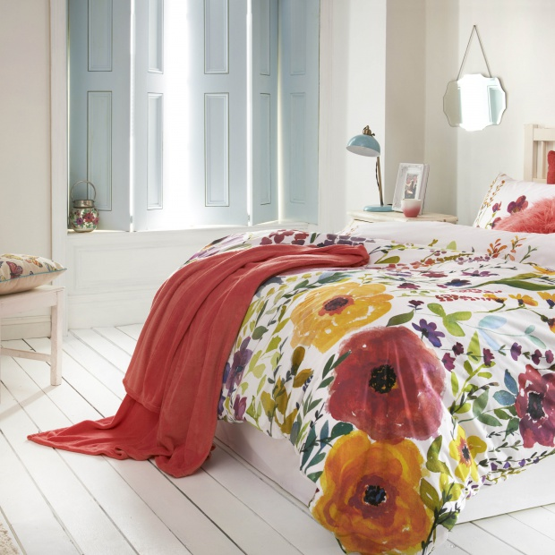 Piękna sypialnia. Zobacz dekoracyjne pościele