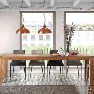Stół z oferty marki La Forma dostępny w salonie Le Pukka. Fot. Le Pukka.