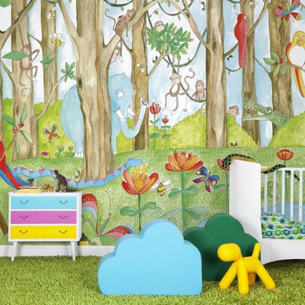 Pokój jak marzenie: 20 pomysłów dla maluchów
