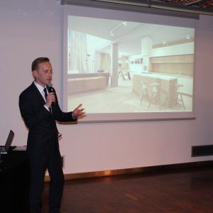 Jak projektować wnętrza z użyciem programu komputerowego dla projektantów i architektów wnętrz opowiedział  Marcin Pietrzyk z firmy CAD Projekt A&K.