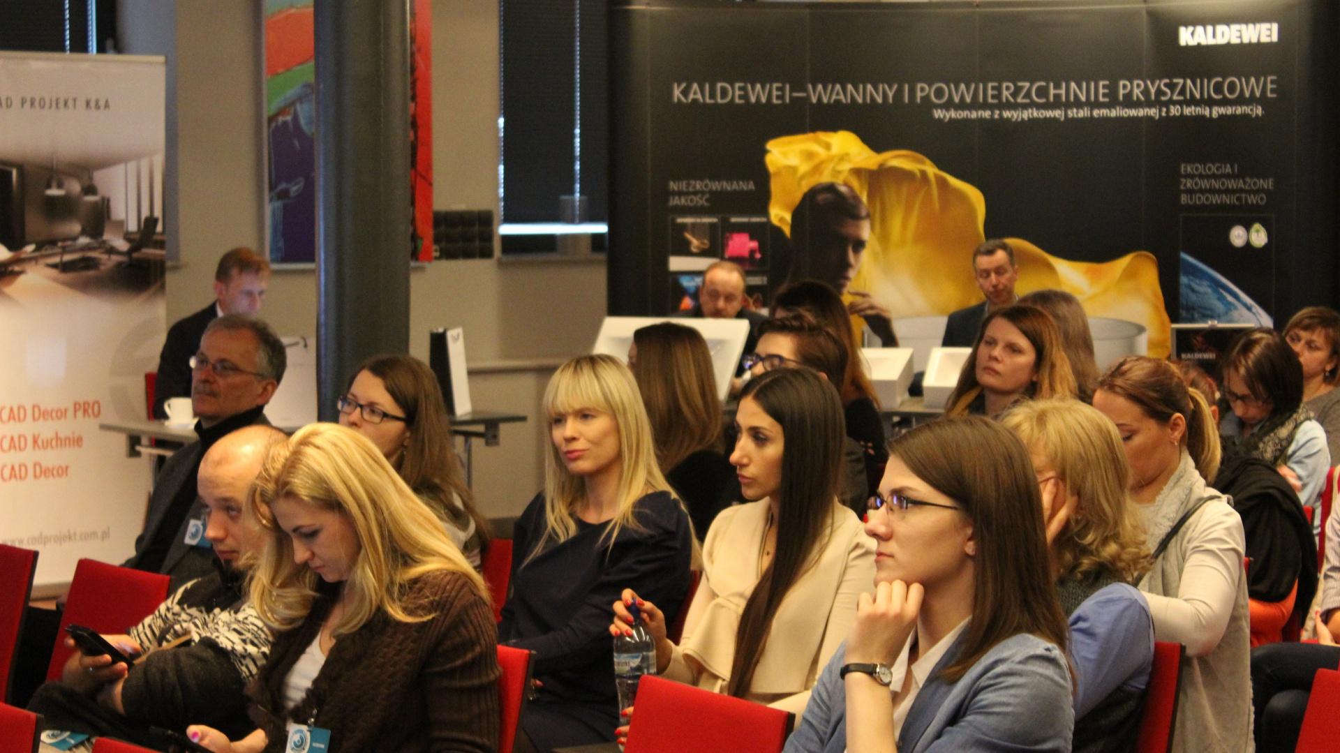 Spotkanie w Łodzi z cyklu Studio Dobrych Rozwiązań było okazją do spotkania w grodzie architektów i projektantów wnętrz.