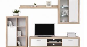 Urządzenie niewielkiego salonu to już nie problem. Z pomocą przychodzą nowoczesne <br />propozycje meblościanek.