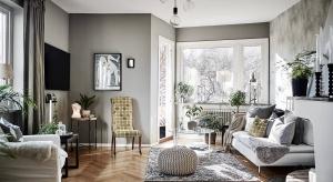 Stylowe mieszkanie urządzone w mieszance różnych stylów zachwyca przytulnością i szykownym szaleństwem.
