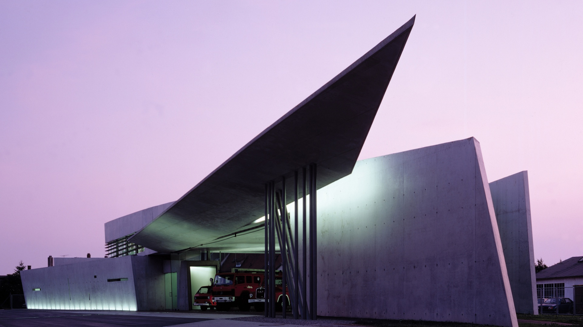 Vitra Fire Station, Weil am Rhein,Niemcy. Fot. Christian Richters.