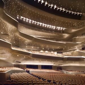 Opera w  Guangzhou, Chiny. Fot.  Virgile Simon Bertrand.
