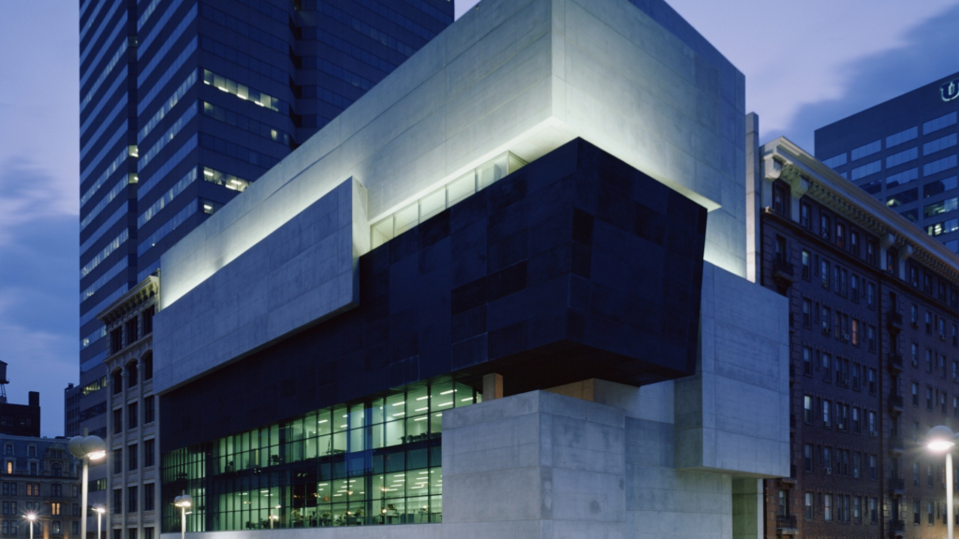 Contemporary Arts Center, Cincinnati. Fot. Roland Halbe.