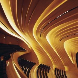 Haydar Aliyev Center, Baku. Fot. Helene Binet.