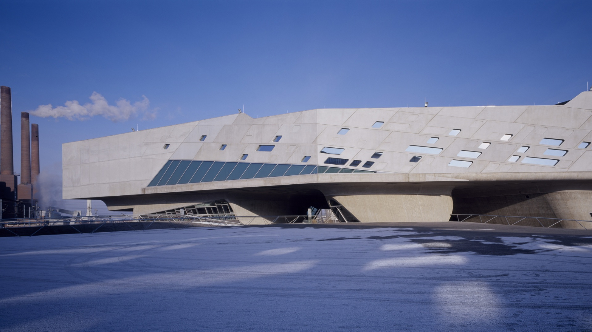 Phaeno Science Centre. Fot. Werner Huthmacher.