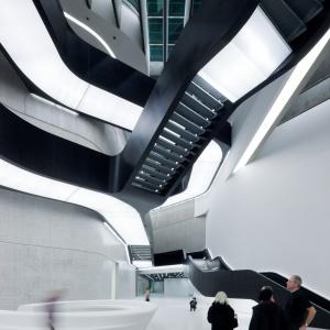 MAXXI Museum of XXI Century Art, Rzym. Fot. Iwan Baan.