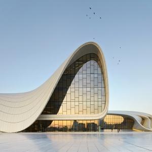 Heydar Aliyev Center, Baku. Fot. Hufton+Crow.