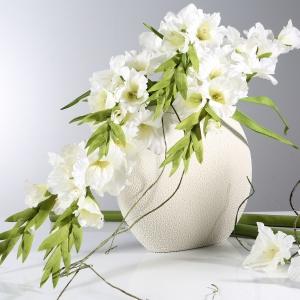 Kompozycja kwiatowa Mieczyk z oferty Eurofirany. Fot. Eurofirany