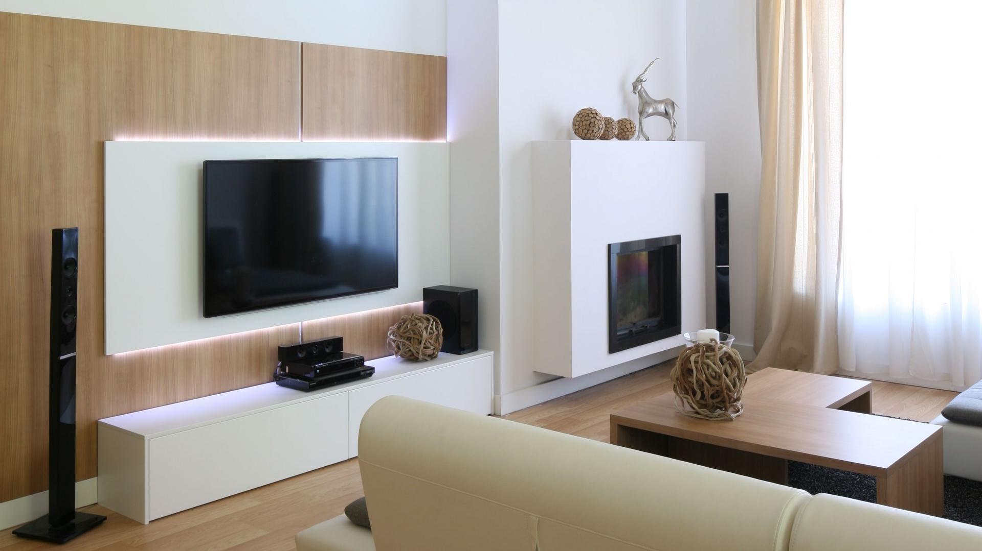 ściana Z Tv Zobacz 12 Pomysłów Projektantów