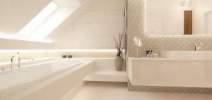 Projektowanie wnętrz łazienki ze skosami