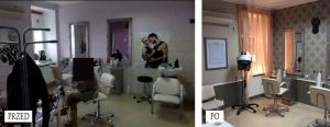Szybka metamorfoza salonu fryzjerskiego