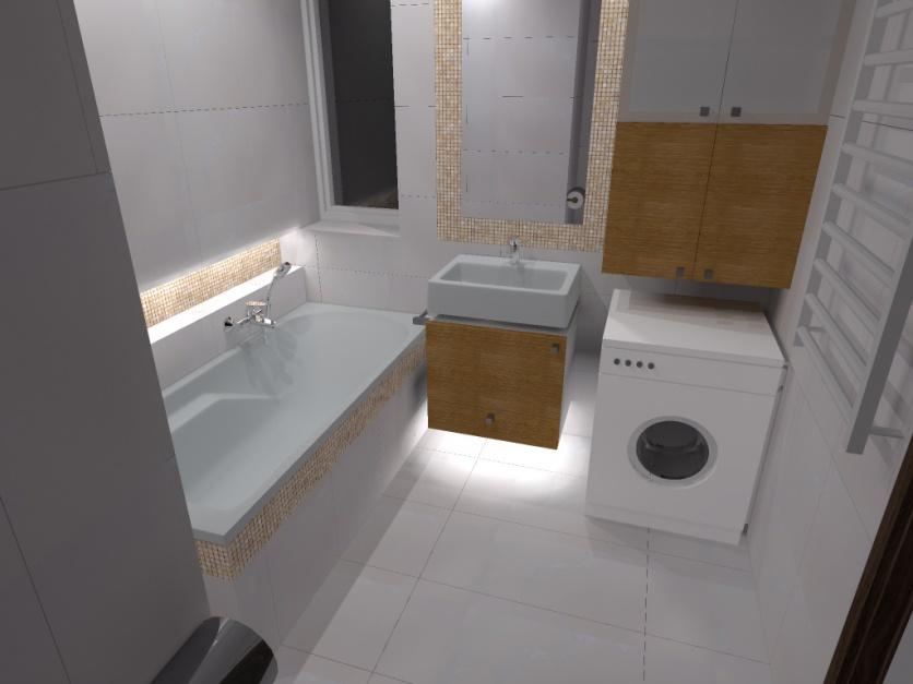 Realizacja Architekta Mała łazienka W Bieli I Beżach