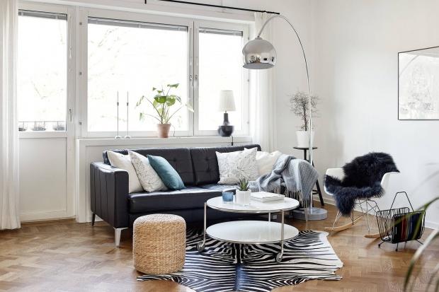 Skandynawskie salony. Przegląd ciekawych aranżacji wnętrza