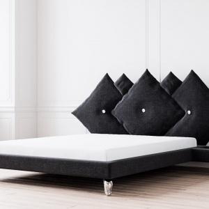 Łóżko #PARADISE z kolekcji LOVE stworzone we współpracy marki Ammadora z firmą JMB Design.