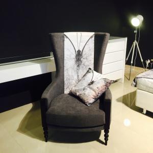 Fotel #BUTTERFLY z kolekcji LOVE.