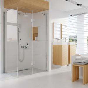 Łazienka - Wybór Roku 2016 - wyróżnienie w kategorii panele i zestawy prysznicowe - komplety podtynkowe Lobelia, prod. Deante