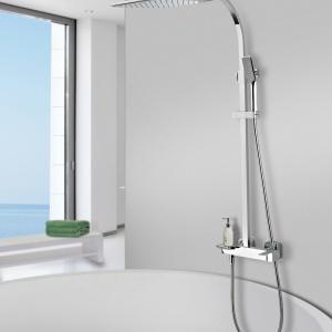 Łazienka - Wybór Roku 2016 - wyróżnienie w kategorii panele i zestawy prysznicowe - system Teka Formentera, prod. Teka