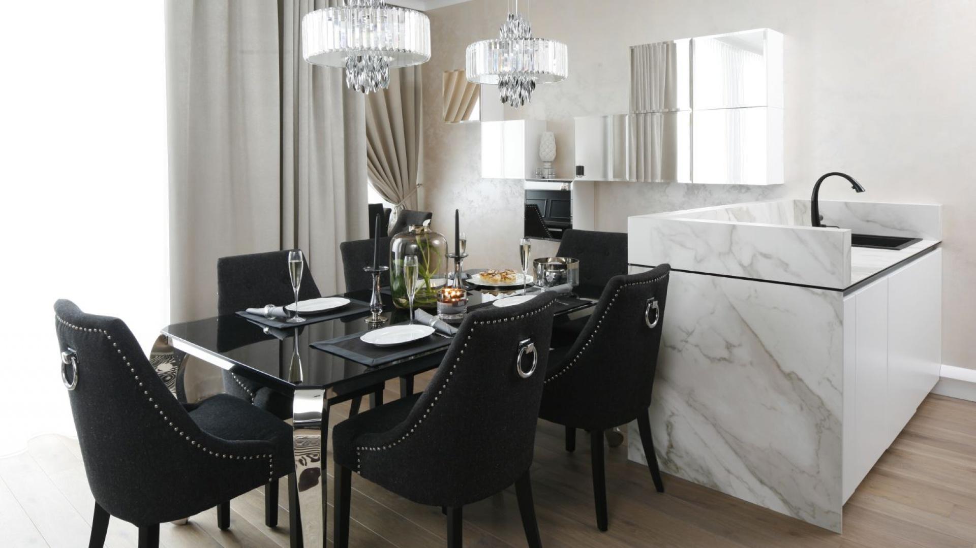Apartament W Stylu Glamour Elegancki I Piękny