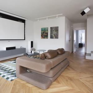 W domu zaplanowano strefę rozrywki z salą audio-wizualną. Fot. Nickel Development