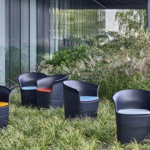 Fotel Tulli zaprojektowany dla marki Noti przez Tomka Rygalika. Fot. materiały prasowe