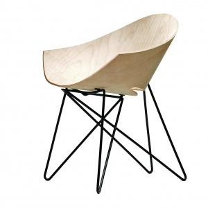 VZOR, krzesło RM56 Wood, proj. Roman Modzelewski