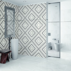 Kolekcja Dreamwalls Ceracasa - imponujący geometryczny wzór. Fot. Ceracasa.