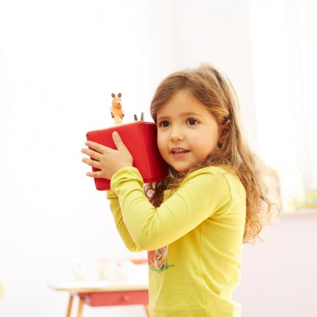 Kolorowy odtwarzacz bajek: nowy gadżet przyjazny maluchom