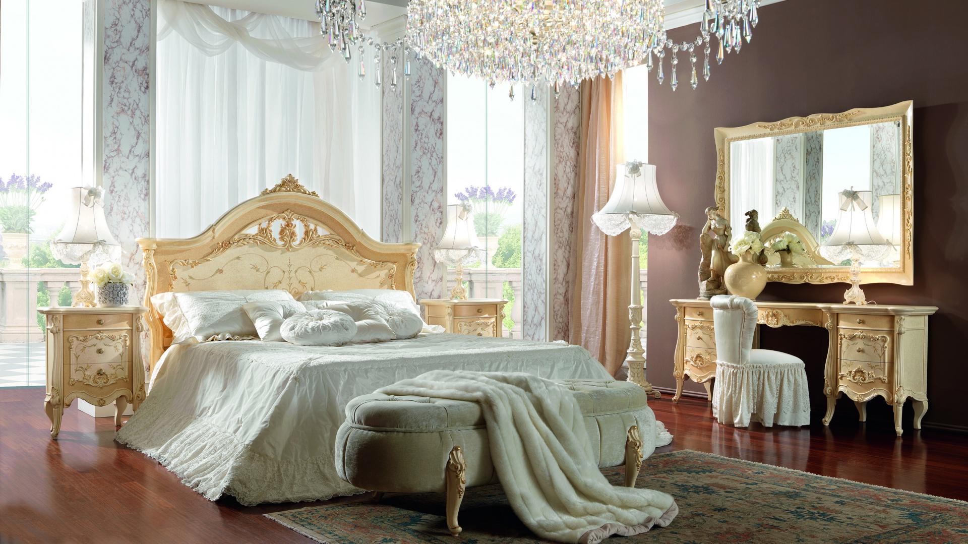 Sypialnia Prestige Plus marki Barnini Oseo. Fot. Oseo