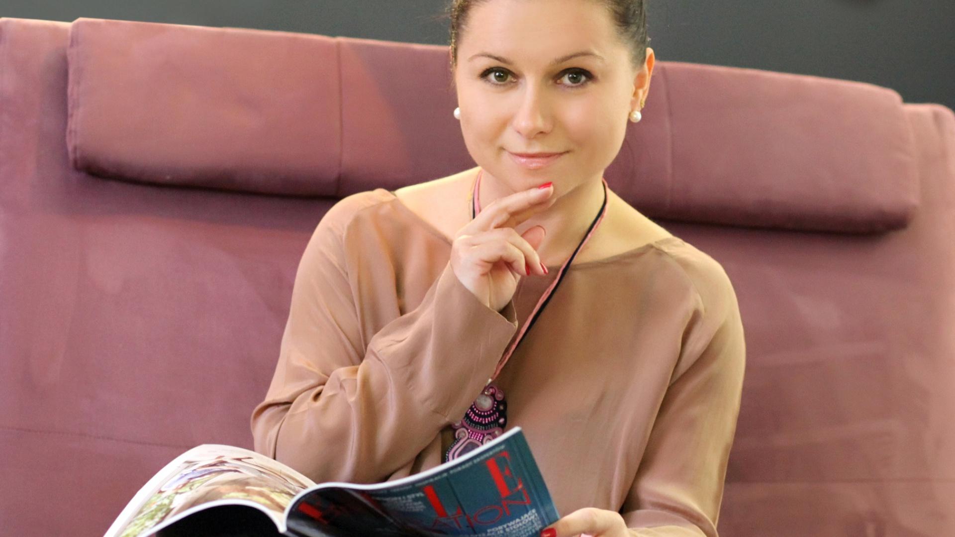 Katarzyna Korus z pracowni Katarzyna Korus Interiors. Fot. Archiwum projektantki