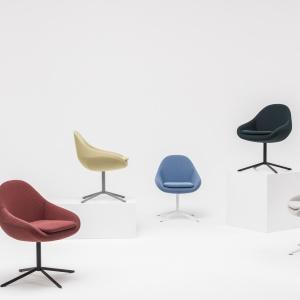 Krzesło Ripple, proj. Krystian Kowalski. Fot. Comforty.