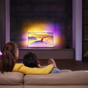 Supersmukły telewizor 4K UHD z systemem Android™ z serii 7000 Philips. Telweizor LED 4K Ultra HD. Fot. Philips