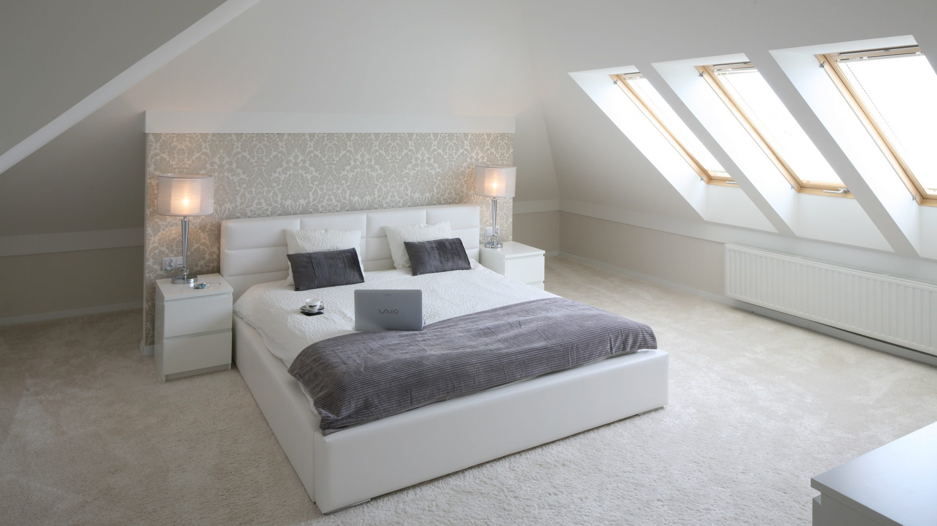Sypialnia Ze Skosem Inspiracje Q Housepl