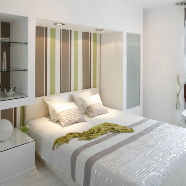 Mała sypialnia. 15 pomysłów na wnętrze w bloku