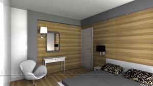 Sypialnia niskonakładowa
