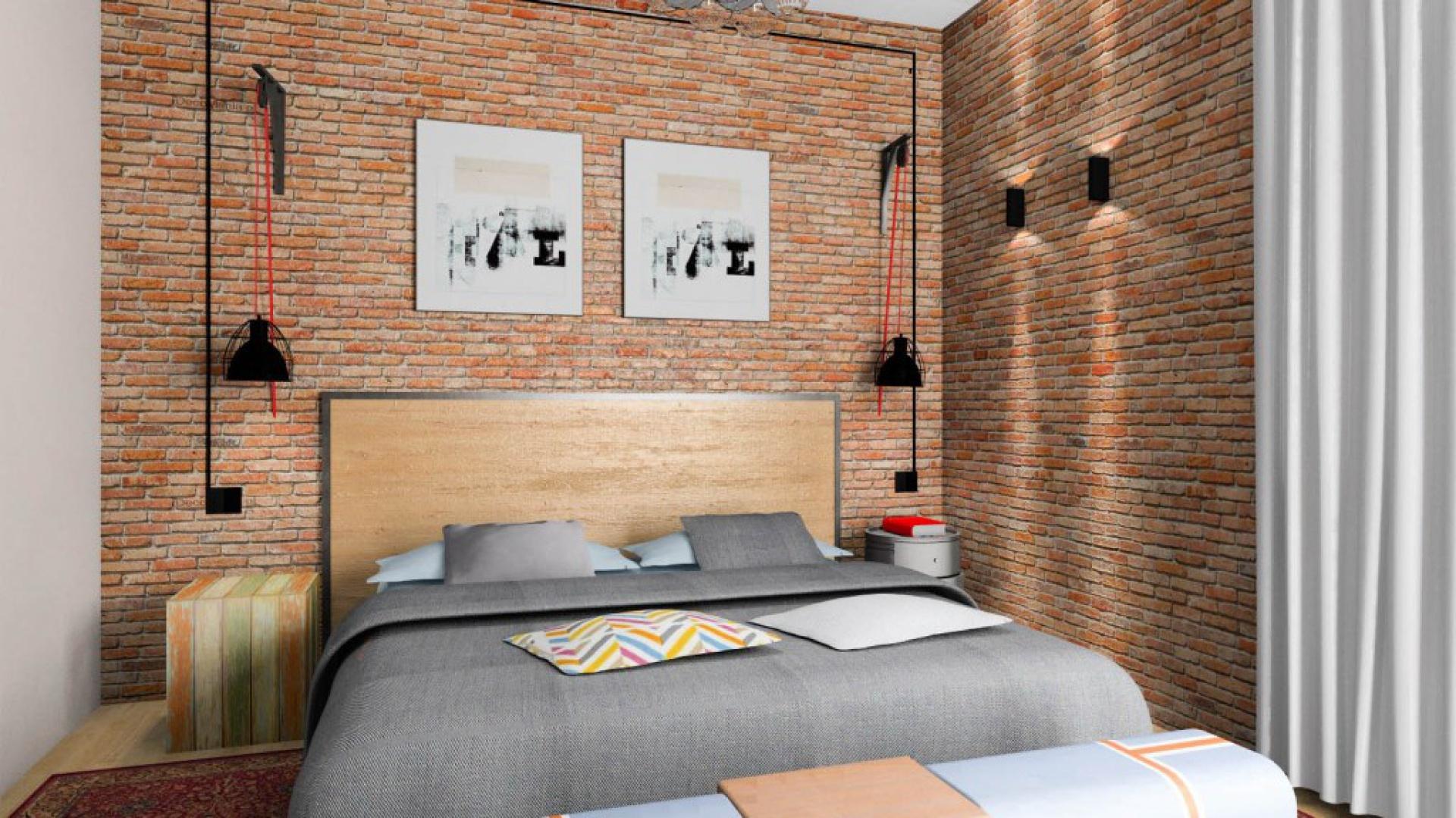 Przytulna Sypialnia Wybieramy Materiał Na ściany