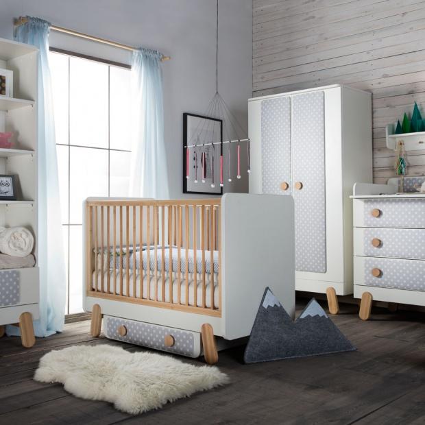 Pokój dziecka w modnym stylu skandynawskim