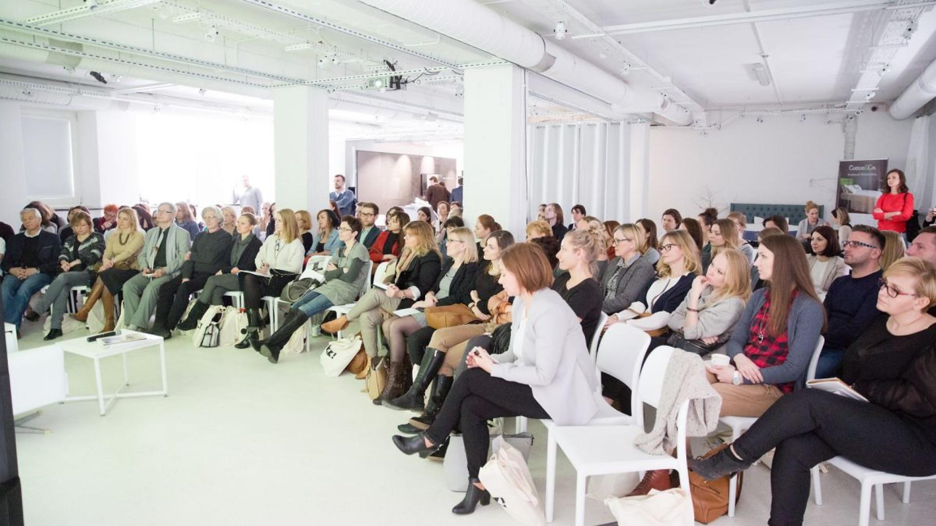 Spotkanie zgromadziło przeszło 150 osób – ludzi świata nauki, ekspertów branży wzornictwa przemysłowego, projektantów i architektów oraz miłośników dobrego designu.Fot. Materiały prasowe
