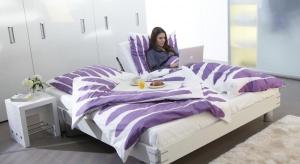 Firma Hettich analizuje zapotrzebowanie na meble do sypialni na podstawie ankiet przeprowadzonych wśród użytkowników ponad 100 sypialni na całym świecie.