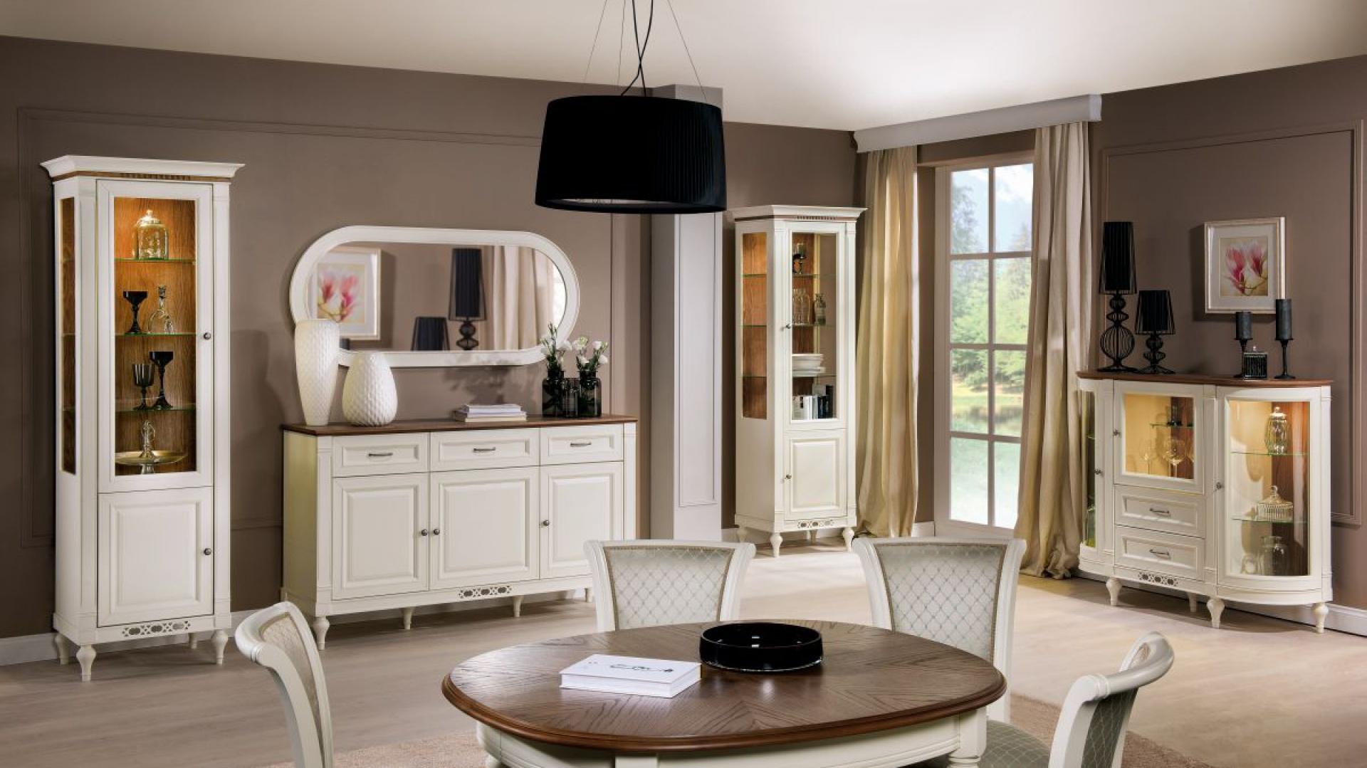 Modernistyczne Białe meble do pokoju: ładne i tanie zestawy [ceny] SR29