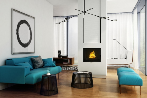 Nowy wkład kominowy Franek 14wyróżnia sięwiększą moc i ekologicznym spalaniem.